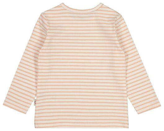 baby t-shirt zalmroze 92 - 33078206 - HEMA
