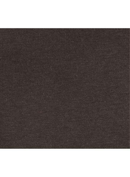 baby t-shirt zwart zwart - 1000008679 - HEMA