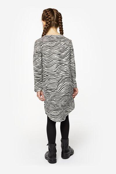 kinder sweatjurk grijsmelange grijsmelange - 1000020153 - HEMA