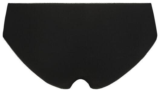 damesslips 3 stuks zwart zwart - 1000020851 - HEMA