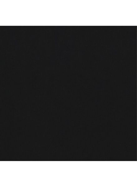 damesrok biologisch katoen zwart S - 36309959 - HEMA