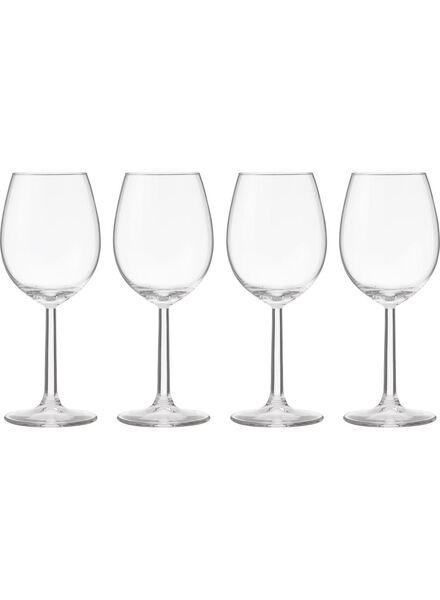 4-pak witte wijnglazen - 9402019 - HEMA