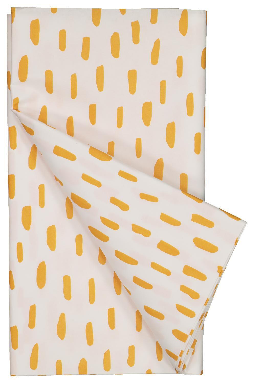 HEMA Tafelkleed 138x220 Wit/oranje