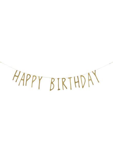 happy birthday slinger 1.5 meter - 14209921 - HEMA