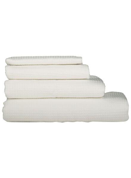 handdoeken - wafel wit wit - 1000015751 - HEMA