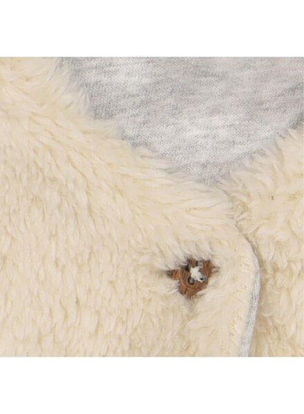 babygilet borg gebroken wit gebroken wit - 1000016569 - HEMA
