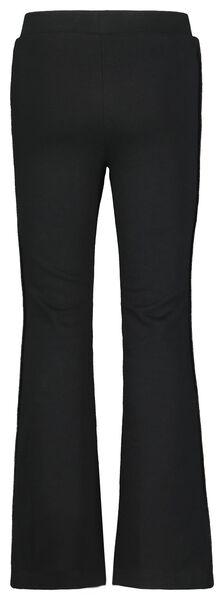 kinder sweatbroek flared zwart zwart - 1000021798 - HEMA