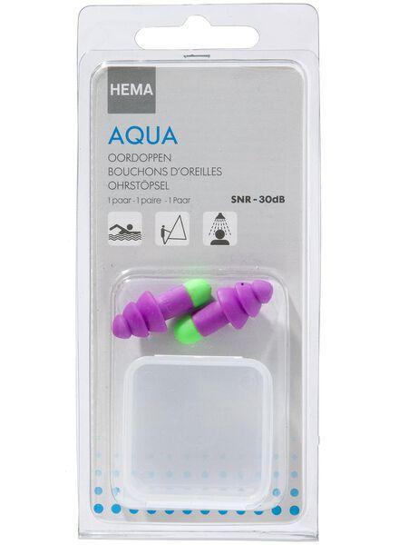 oordopjes aqua - 11972012 - HEMA