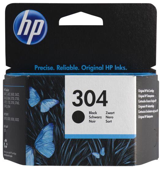 cartridge HP 304 zwart - 38300104 - HEMA