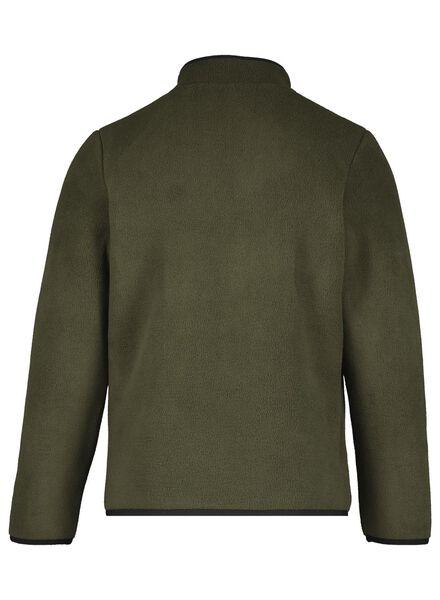 kinder fleece vest groen groen - 1000017026 - HEMA