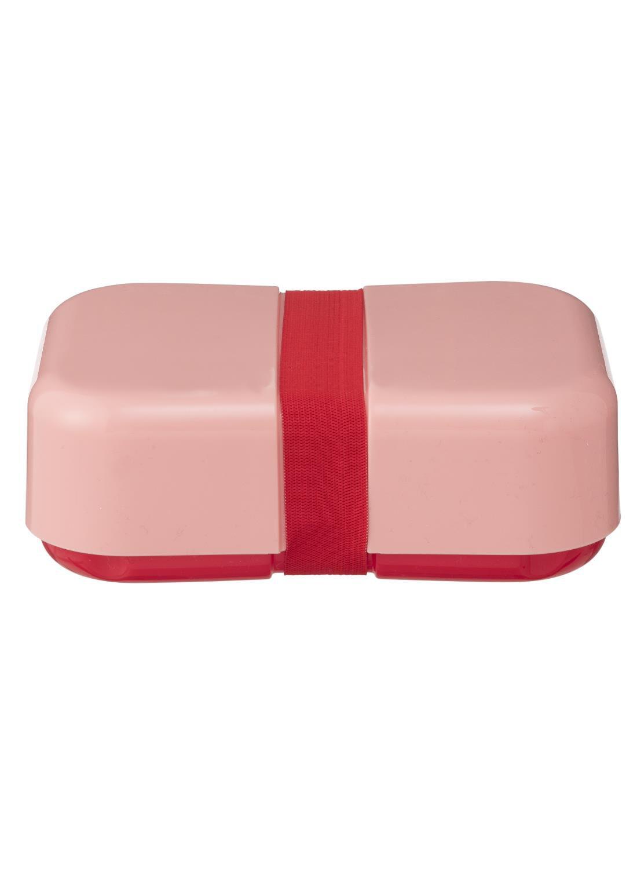 HEMA Lunchbox Met Elastiek Rood