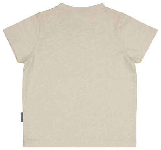 baby t-shirt Kikker gebroken wit gebroken wit - 1000025131 - HEMA