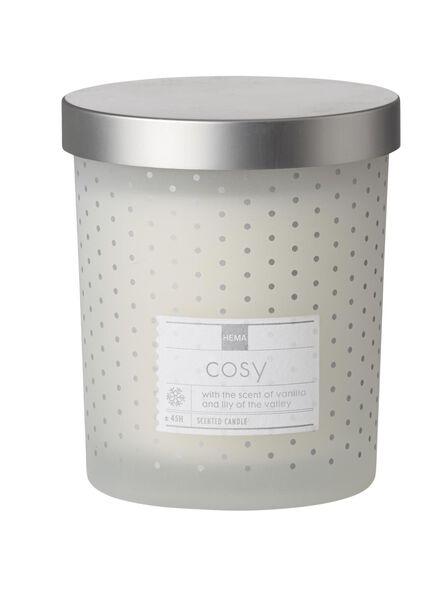 geurkaars in glas vanille - 13502351 - HEMA