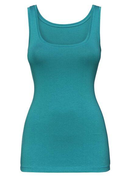 dames singlet groen groen - 1000004715 - HEMA