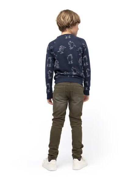 kindersweater donkerblauw donkerblauw - 1000014994 - HEMA
