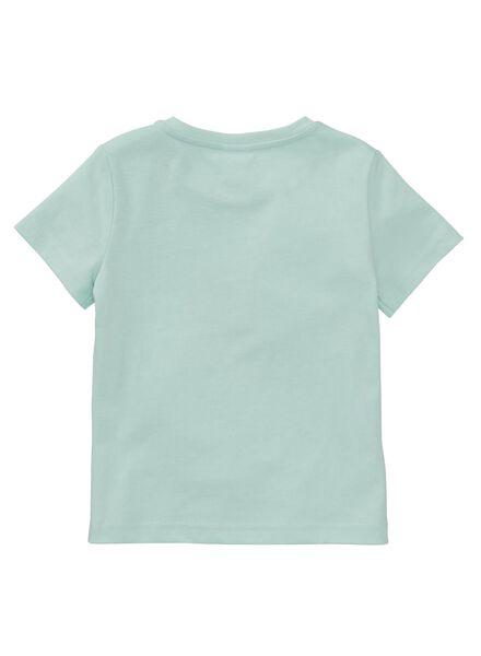 kinder t-shirt lichtblauw - 1000007254 - HEMA