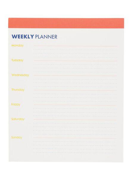 weekplanner - 14180101 - HEMA