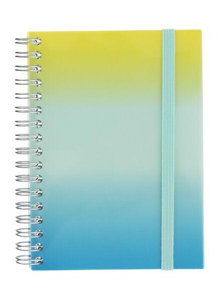 notitieboek A6 gelinieerd - 14160064 - HEMA