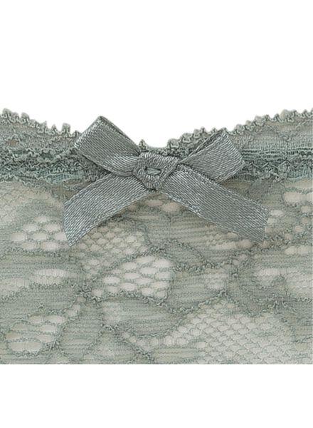damesstring kant groen groen - 1000011860 - HEMA