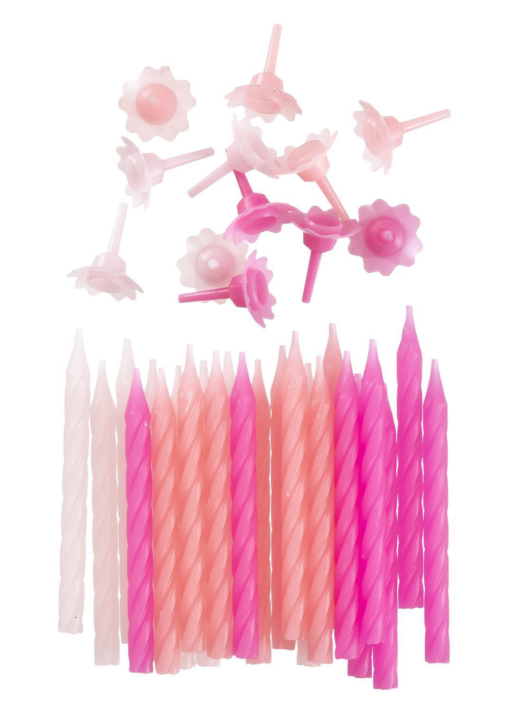 HEMA 24-pak Taartkaarsjes (roze)