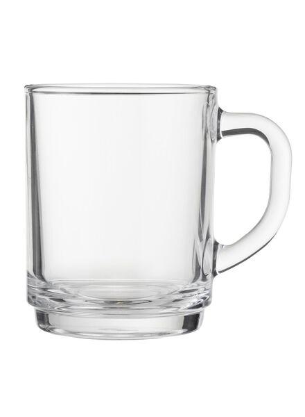 glazen mok 20 cl - 80681900 - HEMA