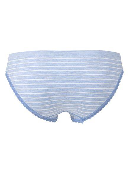damesslip naadloos lichtblauw lichtblauw - 1000006521 - HEMA