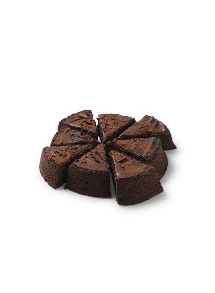chocoladetaart xl 8 p. gesneden - 6340022 - HEMA