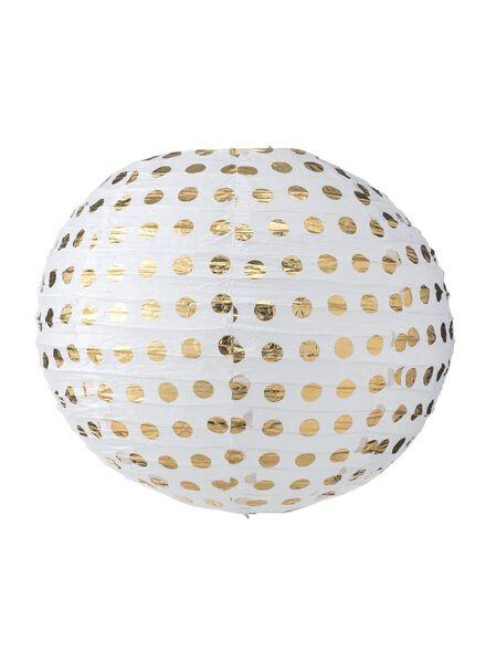 papieren lampion - 14210064 - HEMA