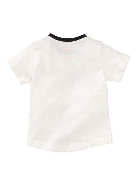baby t-shirt wit wit - 1000008456 - HEMA
