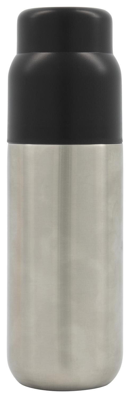 HEMA Isoleerfles 500ml Rvs Zwart (zwart)