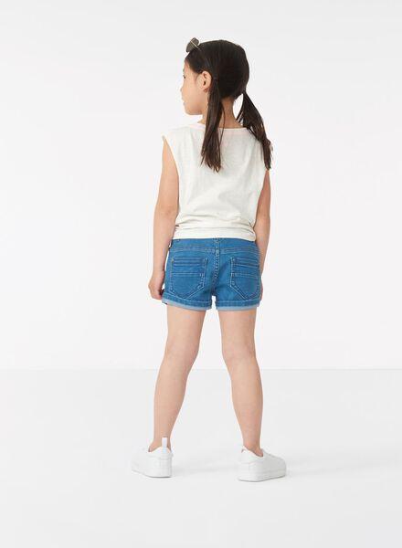 kinder t-shirt gebroken wit gebroken wit - 1000013424 - HEMA