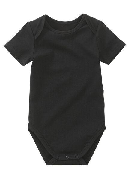 romper zwart zwart - 1000012141 - HEMA