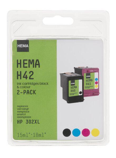 H42 vervangt de HP 302XL - 38399221 - HEMA
