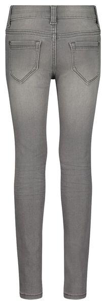 kinderjeans skinny fit grijs grijs - 1000024414 - HEMA
