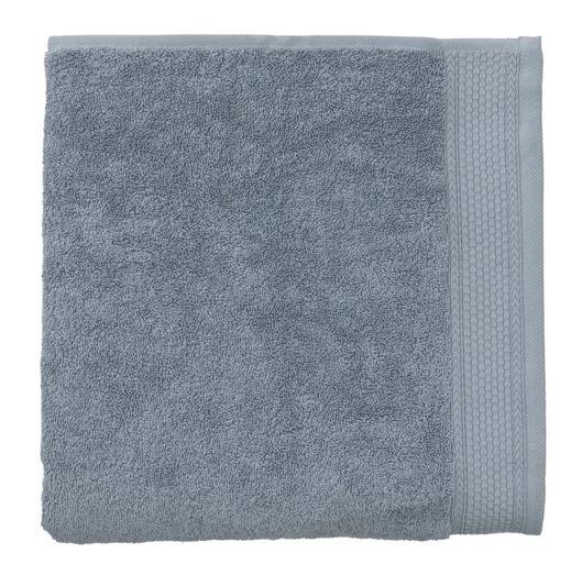 handdoek - 70 x 140 cm - hotel extra zwaar - ijsblauw ijsblauw handdoek 70 x 140 - 5220047 - HEMA