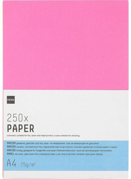 neon kopieerpapier - 14811042 - HEMA
