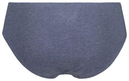 dameshipster second skin katoen donkerblauw donkerblauw - 1000020727 - HEMA