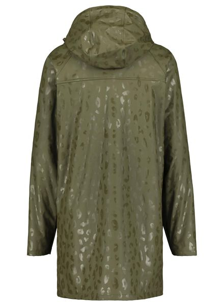 dames regenjas olijf olijf - 1000014744 - HEMA
