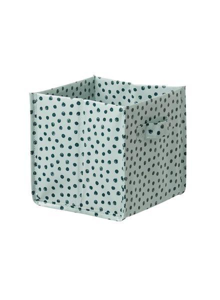 opvouwbare opbergmand 16.5 x 16.5 x 16.5 cm - 39870054 - HEMA