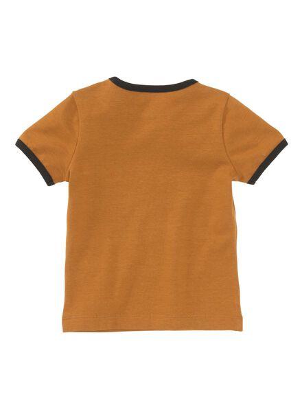 baby t-shirt bruin - 1000008434 - HEMA