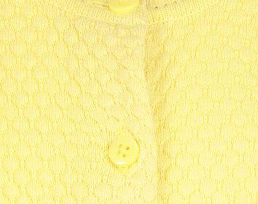 kindervest geel 86/92 - 30800179 - HEMA