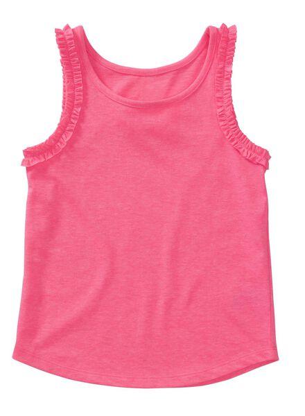 2-pak kindersinglets roze roze - 1000013080 - HEMA