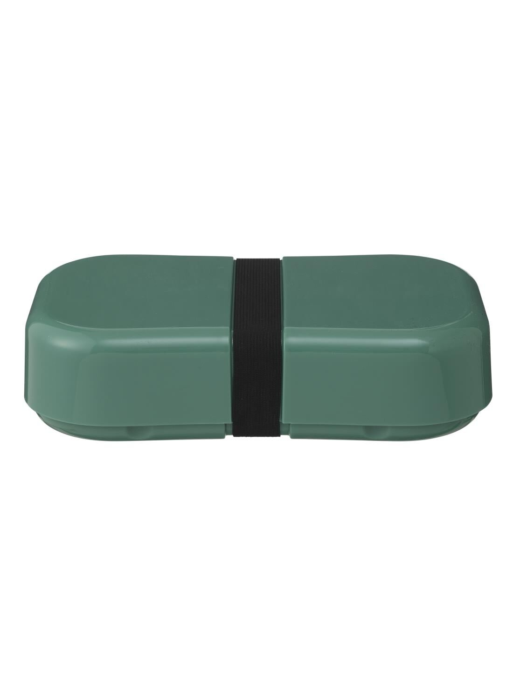 HEMA Lunchbox Met Elastiek XL Groen (groen)