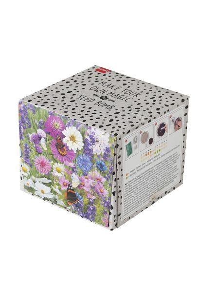 bloemenzaadbom kit vlindertuin - 41800144 - HEMA