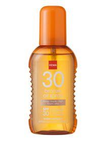 bronzing oliespray SPF 30 - 11610124 - HEMA
