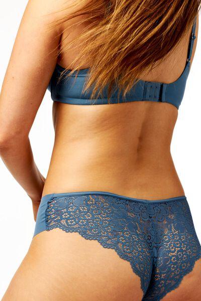 damesbrazilian micro kant middenblauw XL - 19602885 - HEMA