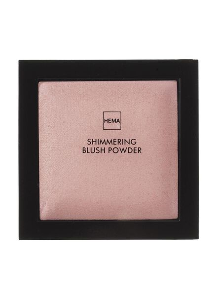 shimmering blush powder heartbreaker rouge - 11294852 - HEMA