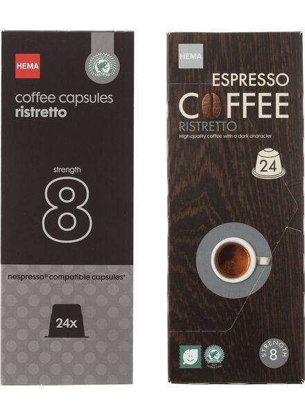 koffiecups ristretto - 24 stuks - 17130010 - HEMA