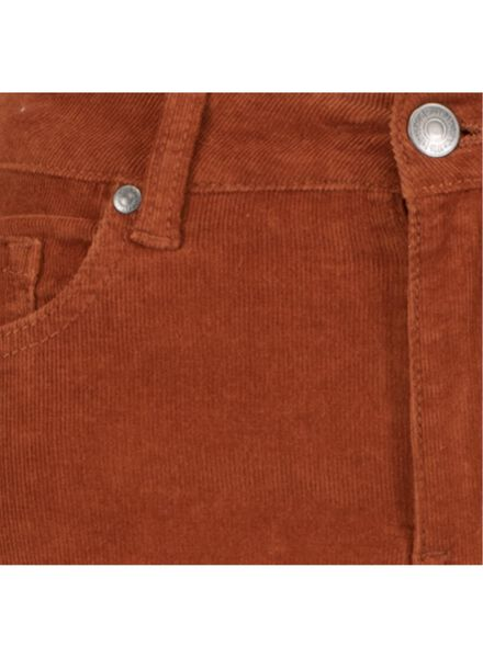 damesbroek corduroy - skinny bruin bruin - 1000015653 - HEMA