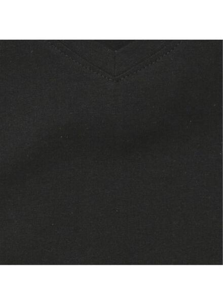 2-pak heren t-shirts zwart zwart - 1000009972 - HEMA